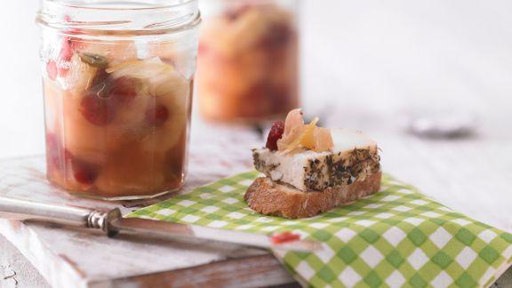 Rezept: Birnen-Cranberry-Chutney