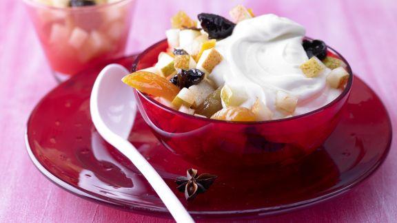 Rezept: Birnen-Fruchtsalat