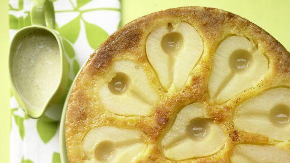 Rezept: Birnen-Rührkuchen