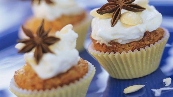Rezept: Birnenmuffins mit Anis und Sternanis