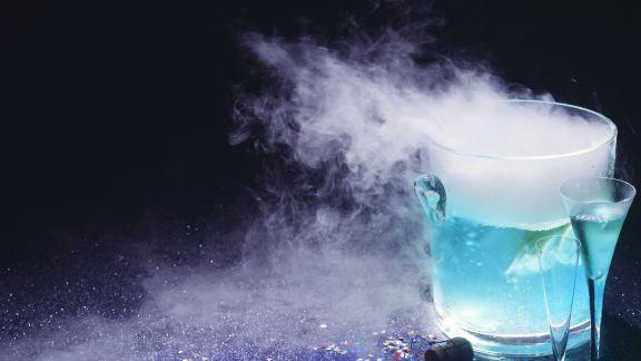 Rezept: Blauer Feuercocktail