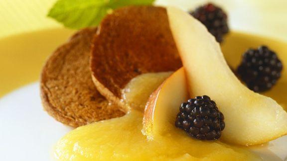 Rezept: Blinis mit Früchten