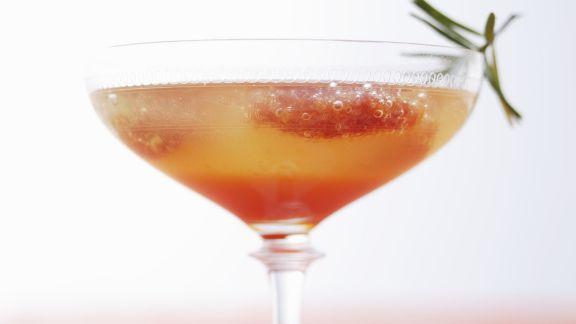 Rezept: Blutorangen-Cocktail mit Rosmarin