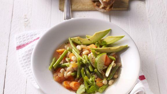 Rezept: Bohnen-Avocado-Suppe