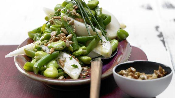 Rezept: Bohnen-Birnen-Salat