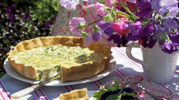 Rezept: Bohnen-Erbsen-Tarte