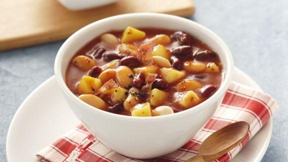 Rezept: Bohnen-Kartoffel-Eintopf