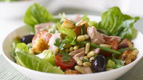 Rezept: Bohnen-Thunfisch-Salat