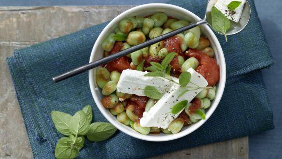 Rezept: Bohnen-Tomaten-Gemüse