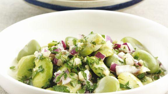 Rezept: Bohnensalat auf marokkanische Art