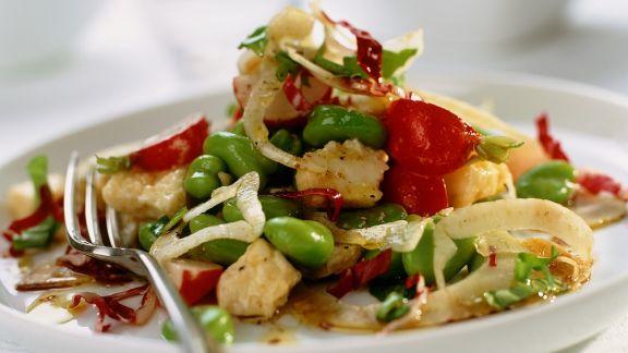 Rezept: Bohnensalat mit Feta