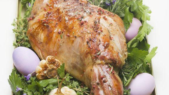 Rezept: Braten von der Lammkeule zu Ostern