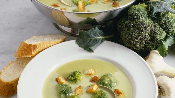 Rezept: Broccolisuppe
