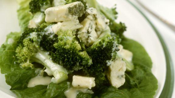 Rezept: Brokkoli mit Blauschimmelkäse