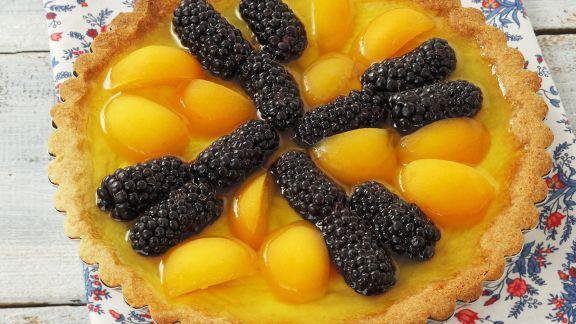 Rezept: Brombeer-Aprikosen-Kuchen