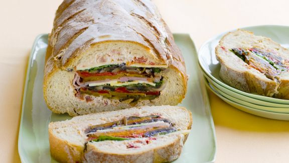 Rezept: Brot mit Füllung
