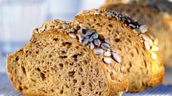 Rezept: Brot mit Sonnenblumenkernen