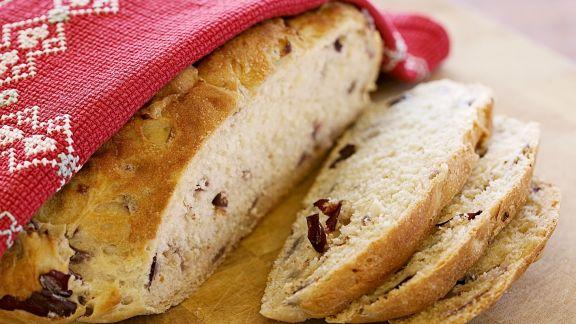 Rezept: Brot mit Zwiebeln