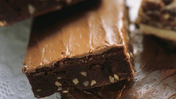 Rezept: Brownies mit Nüssen