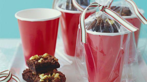 Rezept: Brownies mit Walnüssen