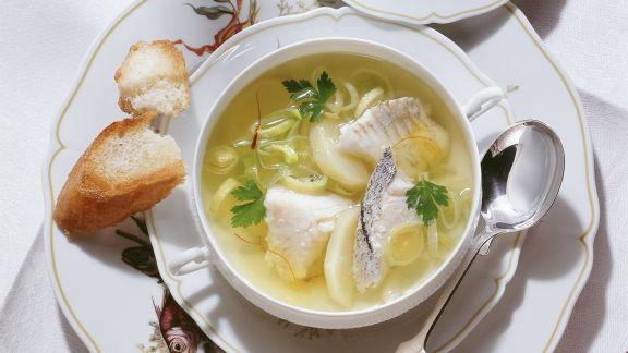 Rezept: Brühe mit Nordseefisch