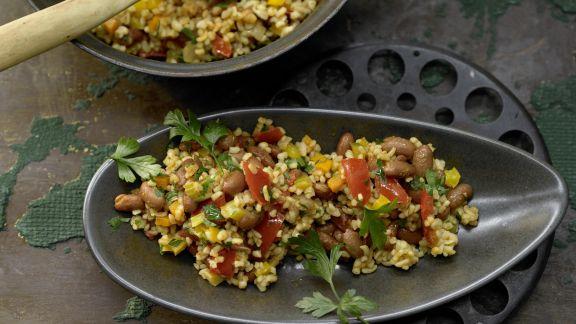Rezept: Bulgur-Gemüse-Pilaw