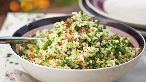 Rezept: Bulgur-Kräuter-Salat