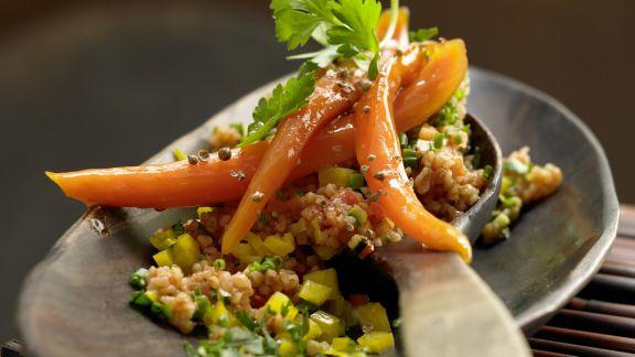 Rezept: Bulgur-Paprika-Salat