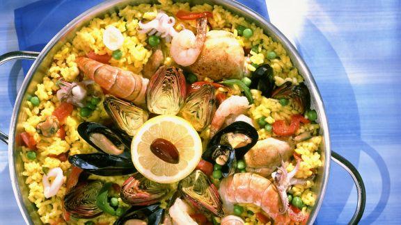 Rezept: Bunt gemischte Paella