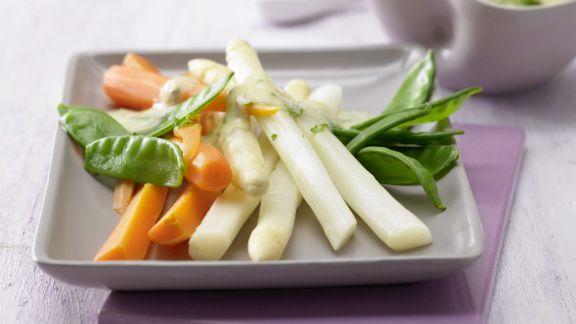 Rezept: Bunte Gemüseplatte
