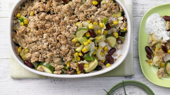 Rezept: Buntes Gemüse-Gratin