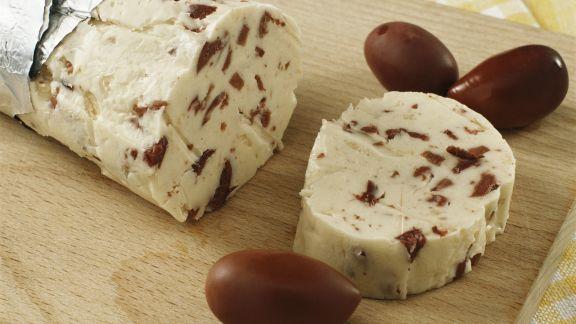 Rezept: Butter mit Oliven