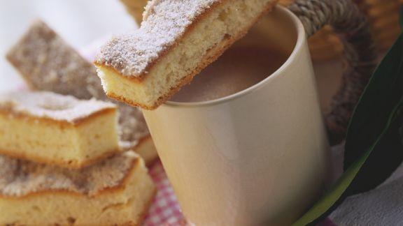 Rezept: Butterkuchen mit Zuckerkruste