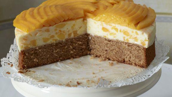 Rezept: Buttermilch-Mango-Torte