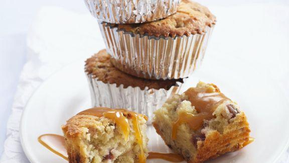 Rezept: Buttermilch-Muffins mit Walnüssen und Feigen