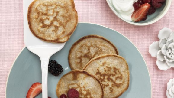Rezept: Buttermilch-Vollkorn-Pancakes