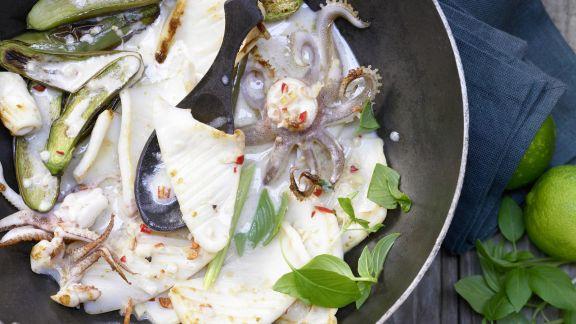 Rezept: Calamari-Pfanne