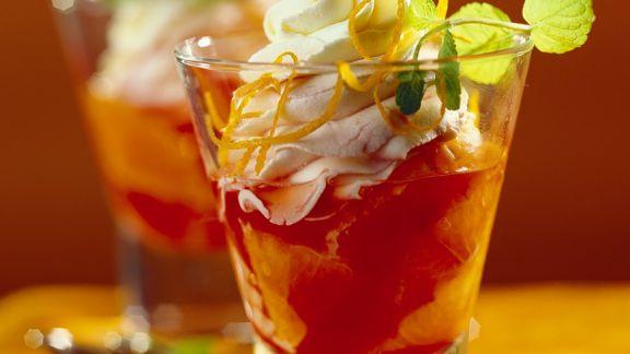 Rezept: Campari-Orangencreme