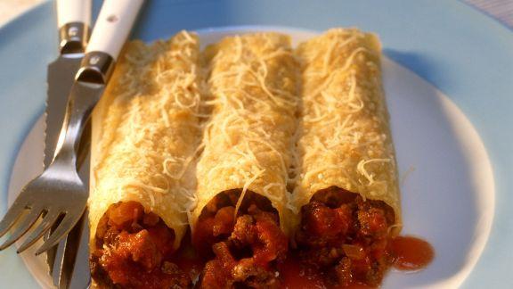 Rezept: Cannelloni Bolognese