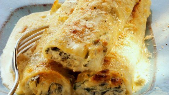 Rezept: Cannelloni mit Käsesauce
