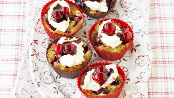 Rezept: Cashew-Cupcakes mit Cranberries