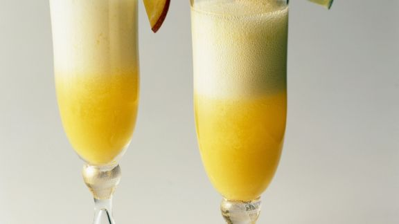 Rezept: Champagner-Obstcocktail