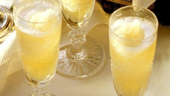 Rezept: Champagnersorbet