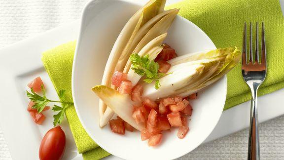 Rezept: Chicorée mit Tomaten