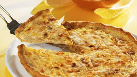 Rezept: Chicoréekuchen mit Comté