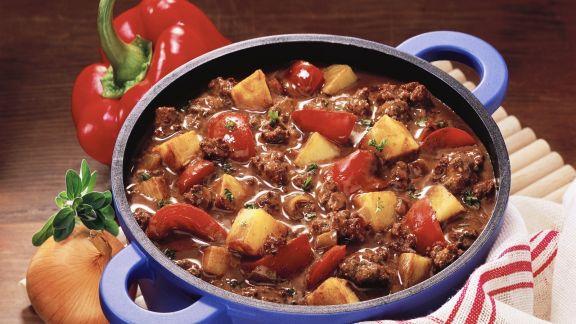 Rezept: Chili con Carne mit Kartoffeln