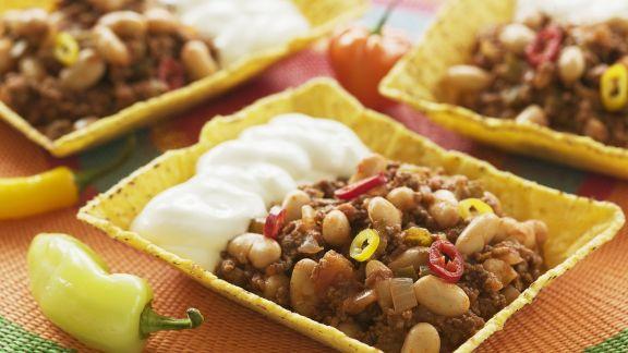 Rezept: Chili con Carne Sauerrahm