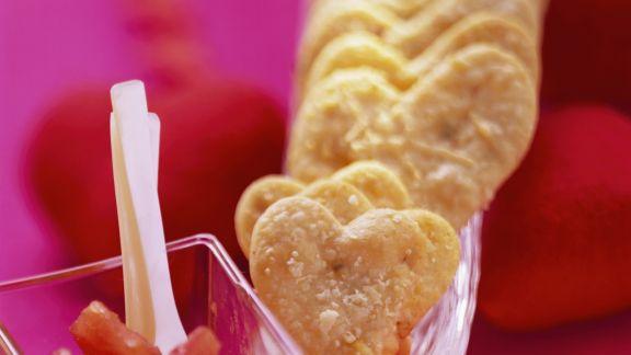 Rezept: Chili-Herz-Plätzchen