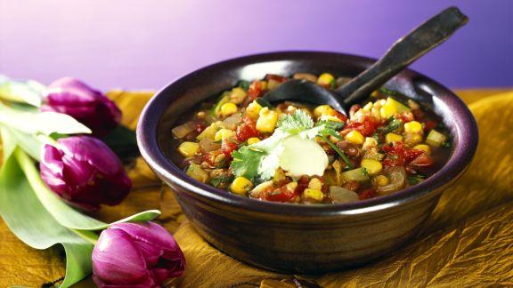 Rezept: Chili sin Carne mit Sojabohnen