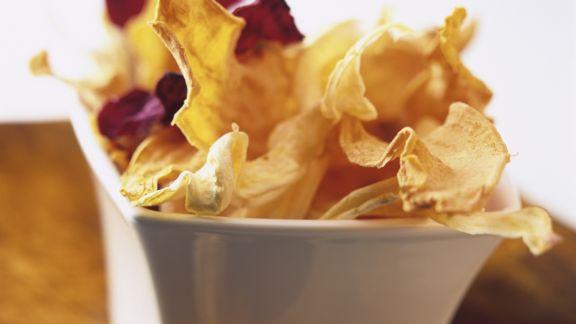 Rezept: Chips aus verschiedenen Gemüsesorten